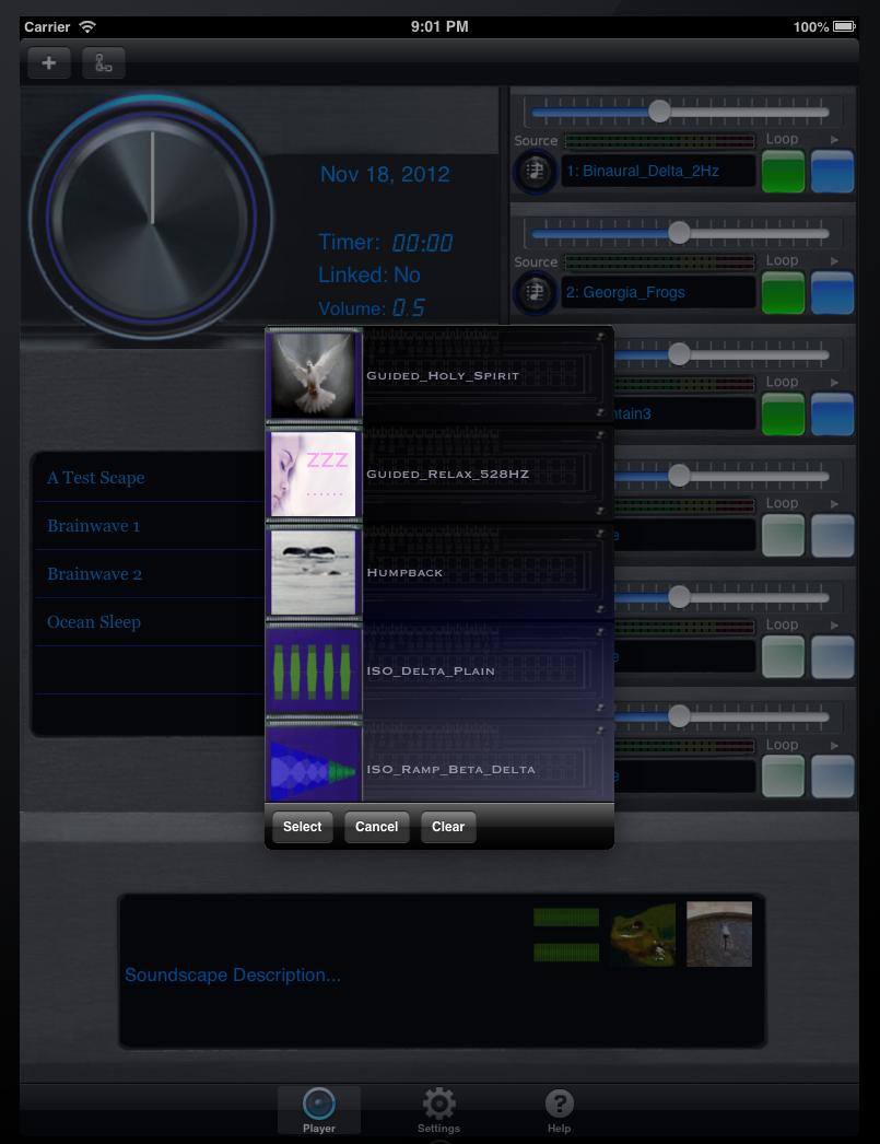 Screen Shot iPad Source Library